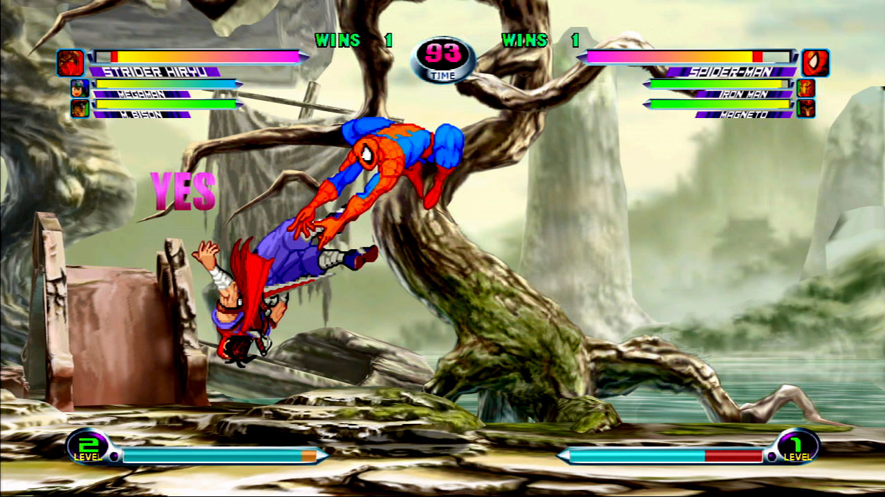 Marvel vs. Capcom 2 screen shot #1 - July 27