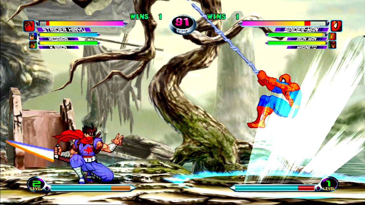 Marvel vs. Capcom 2 screen shot #2 - July 27