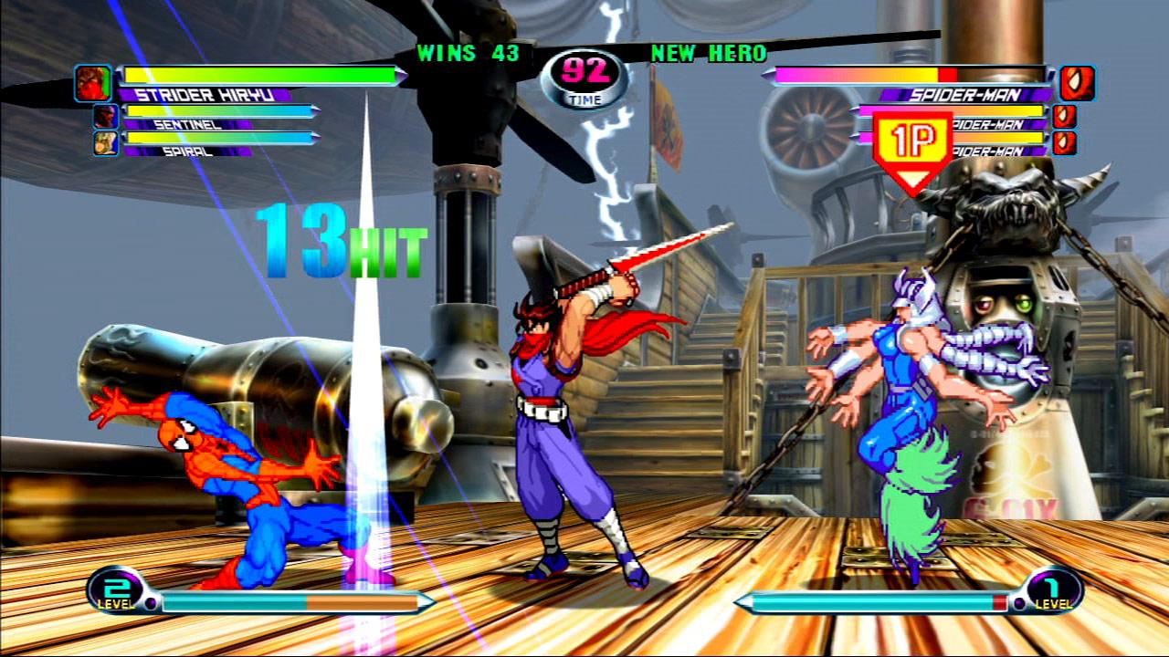 Marvel vs. Capcom 2 screen shot #4 - July 27
