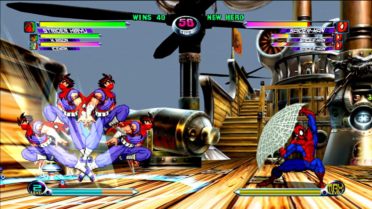 Marvel vs. Capcom 2 screen shot #5 - July 27