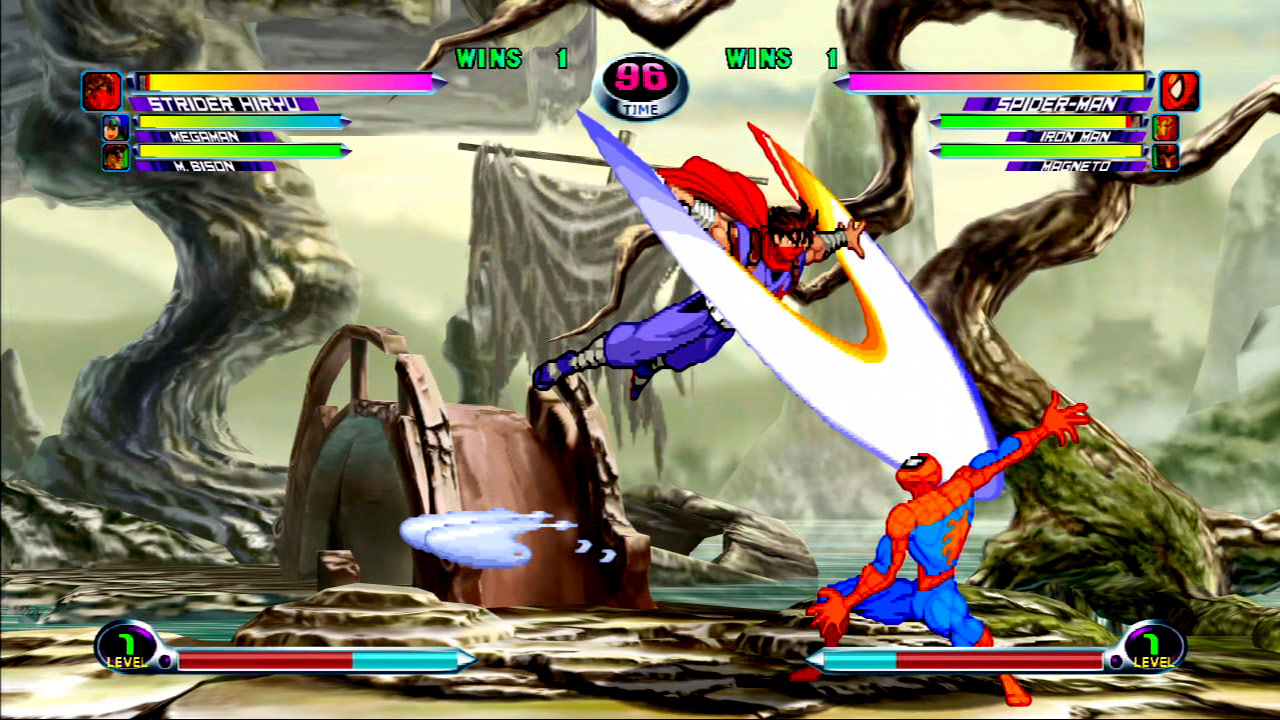 Marvel vs. Capcom 2 screen shot #6 - July 27