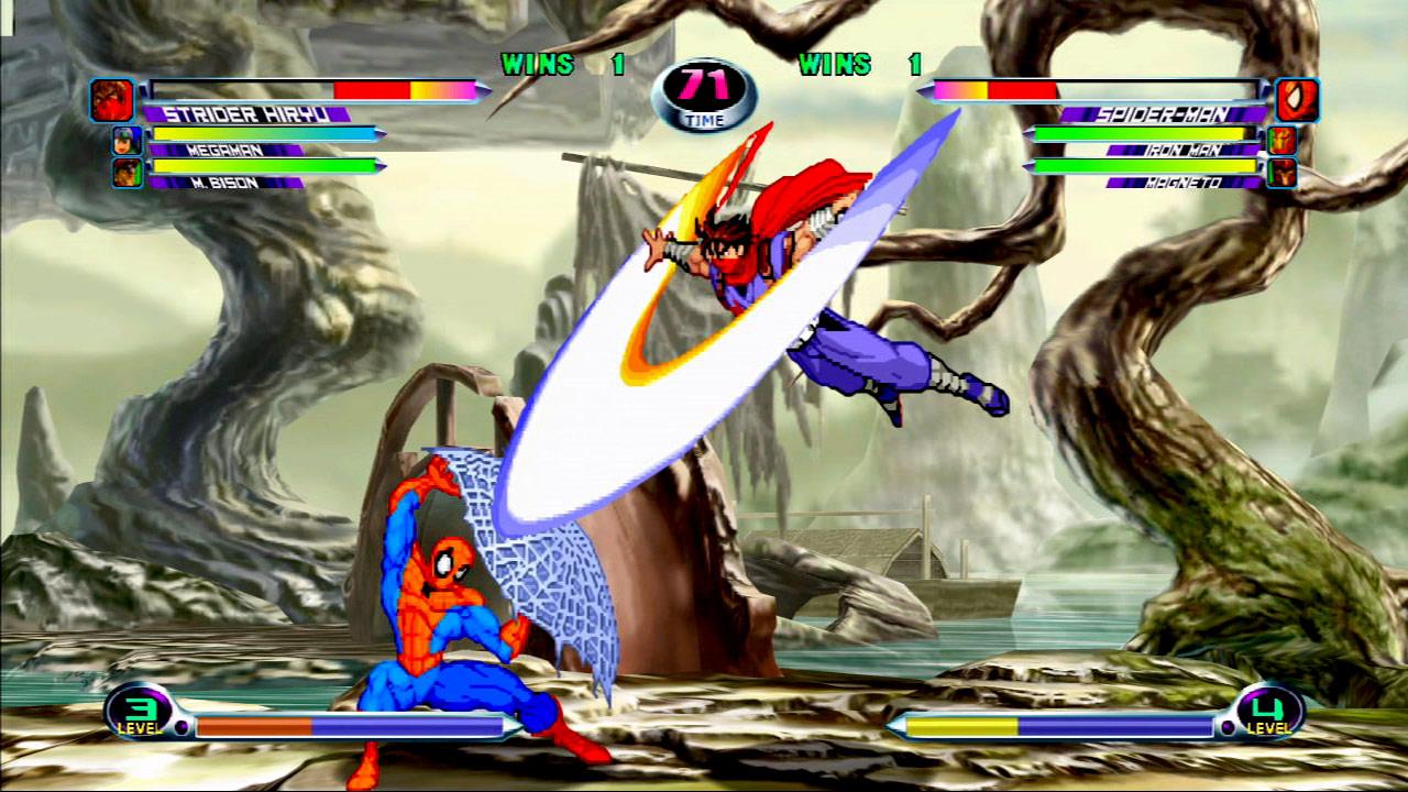 Marvel vs. Capcom 2 screen shot #8 - July 27