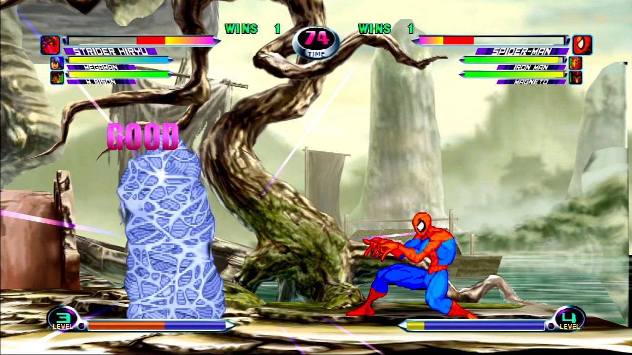 Marvel vs. Capcom 2 screen shot #9 - July 27