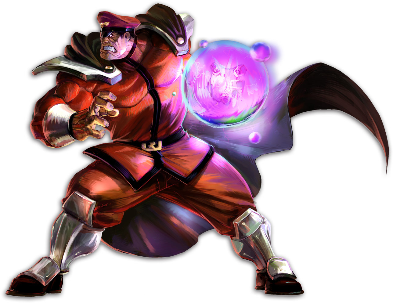 M. Bison artwork, Marvel vs. Capcom 2