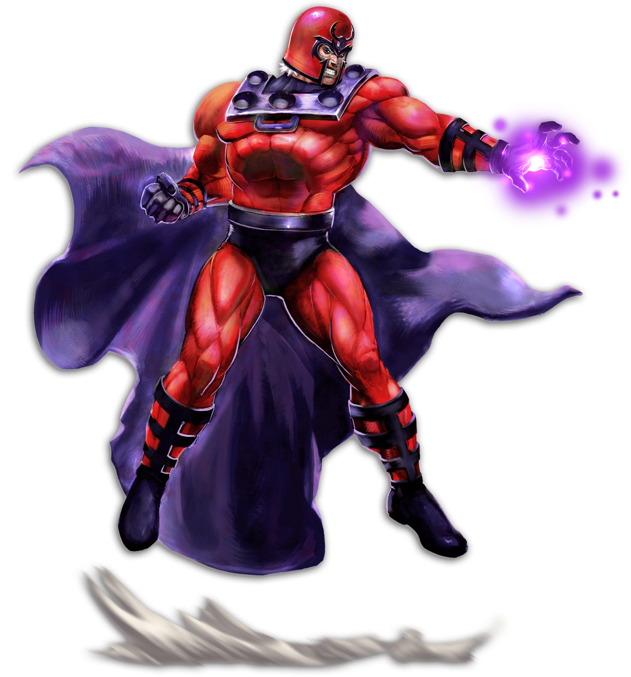 Magneto artwork, Marvel vs. Capcom 2
