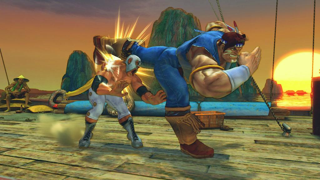 Super Street Fighter 4 screen shot #1