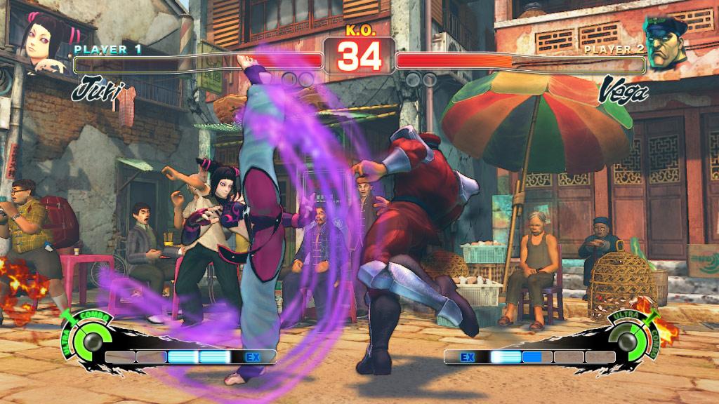 Super Street Fighter 4 screen shot #3