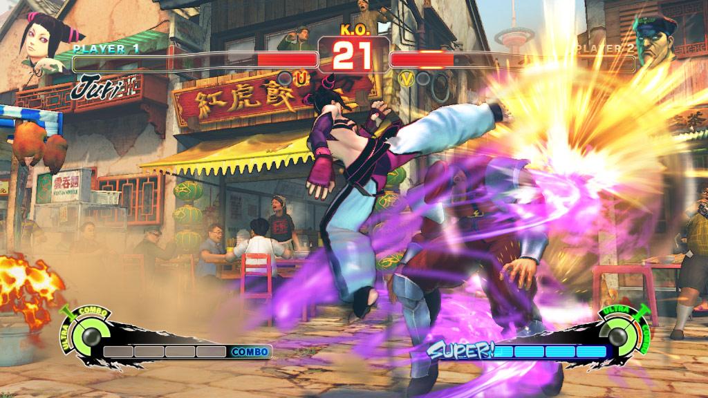 Super Street Fighter 4 screen shot #4