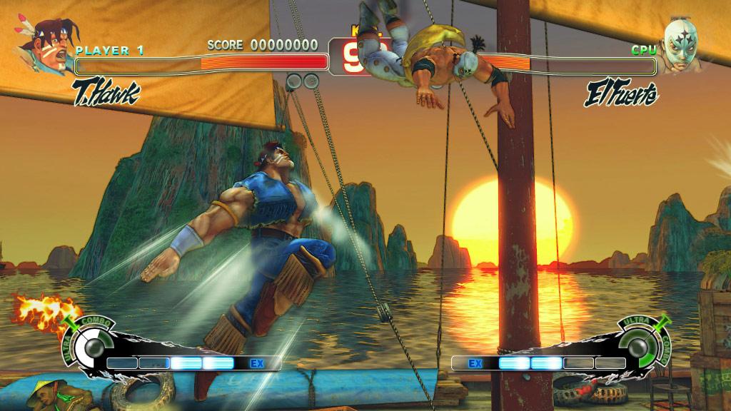 Super Street Fighter 4 screen shot #6