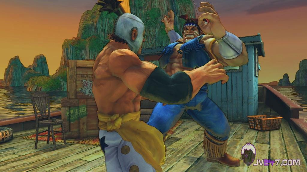 Super Street Fighter 4 screen shot #8