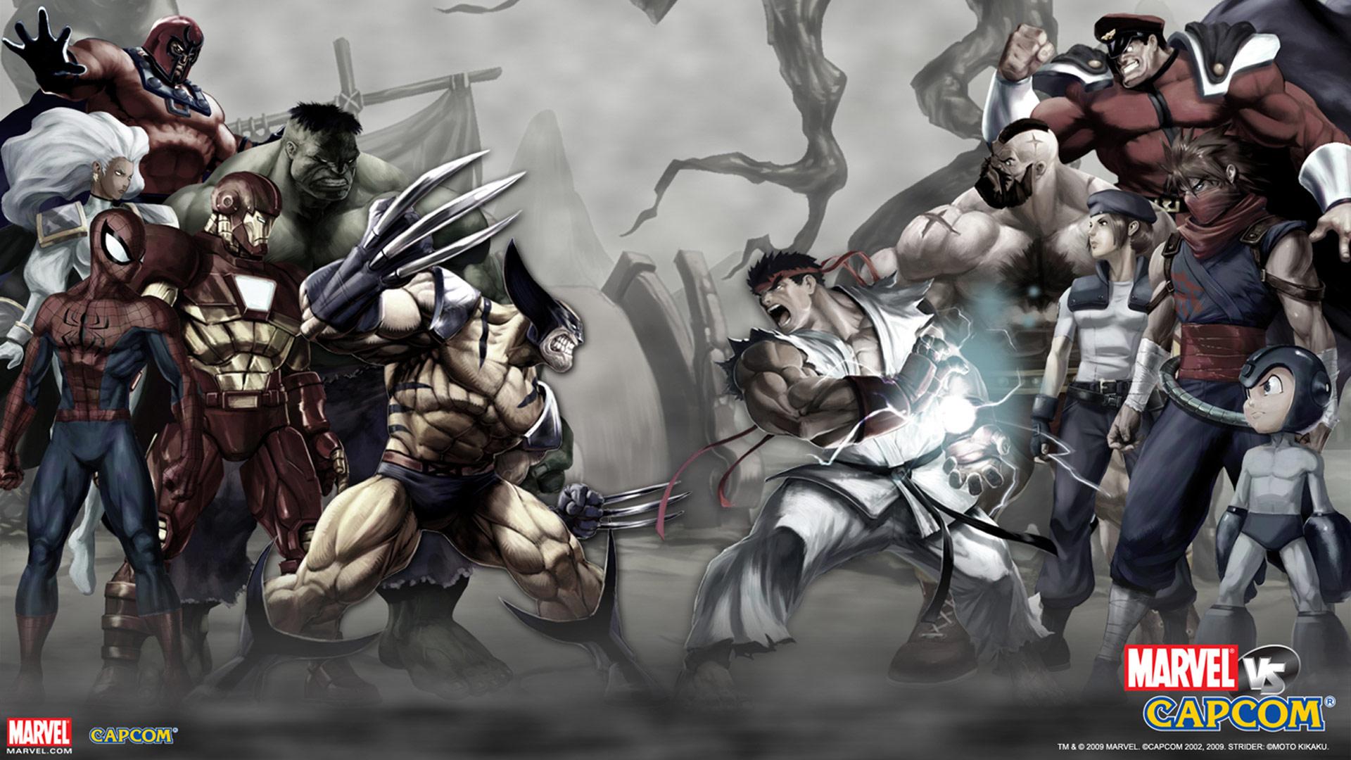 Marvel Vs Capcom 2 Wallpaper Artwork