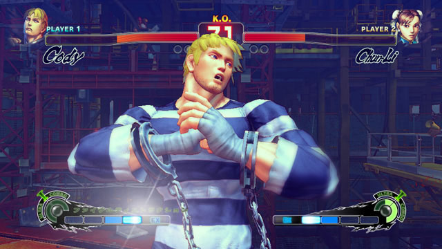 Cody Super Street Fighter 4 Screen Shot 4