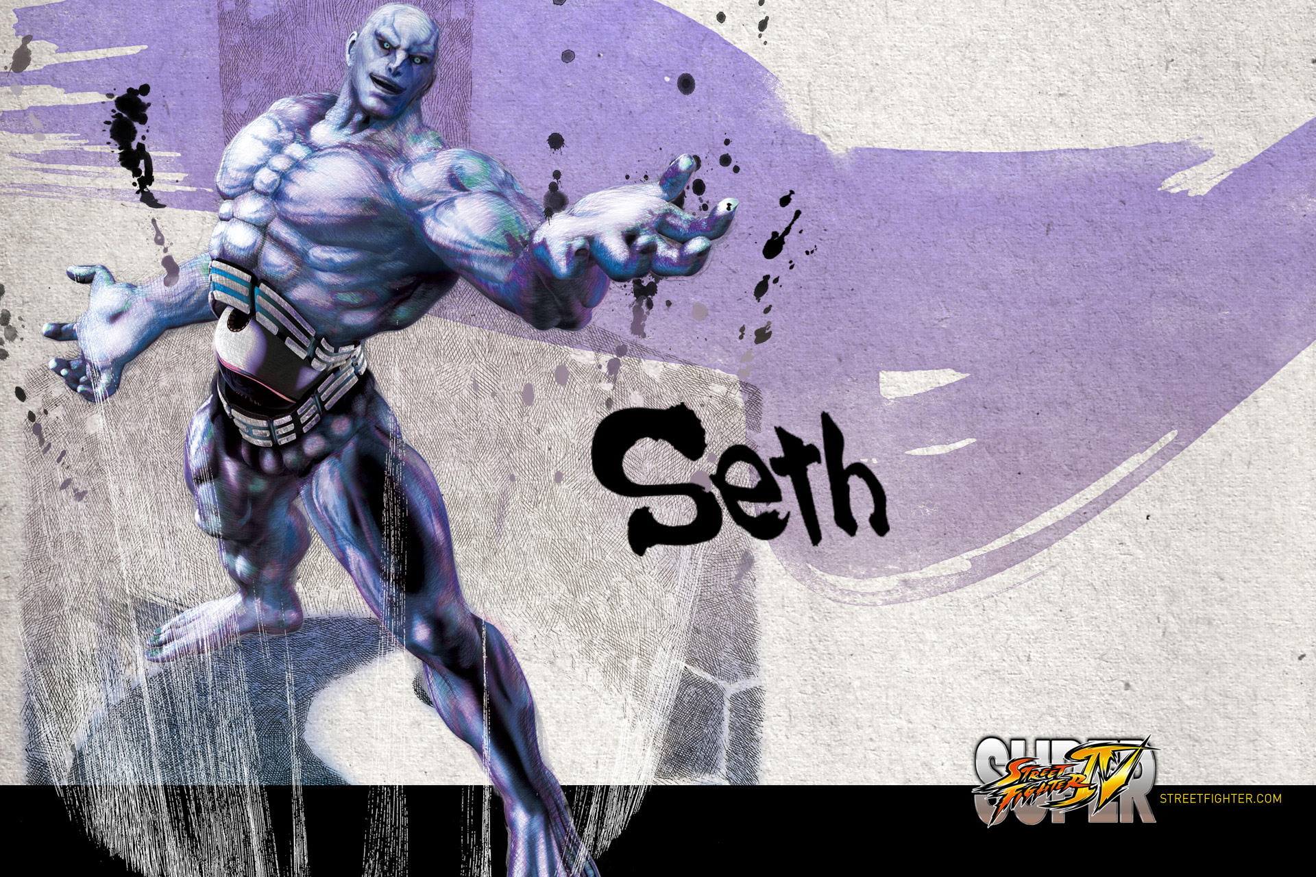 seth super street fighter 4 wallpaper