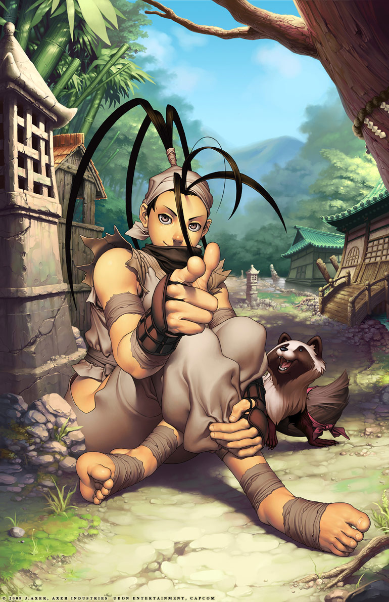 Alternative cover artwork for Udon's Ibuki Legends comic