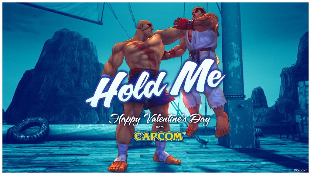 Super Street Fighter 4 Valentine's Day card #1