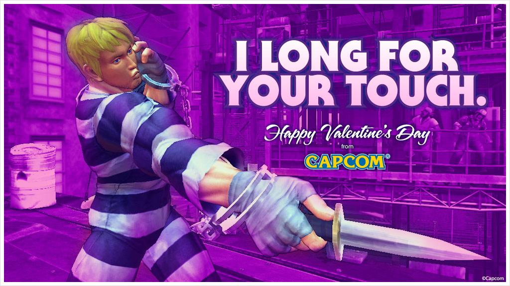 Super Street Fighter 4 Valentine's Day card #2