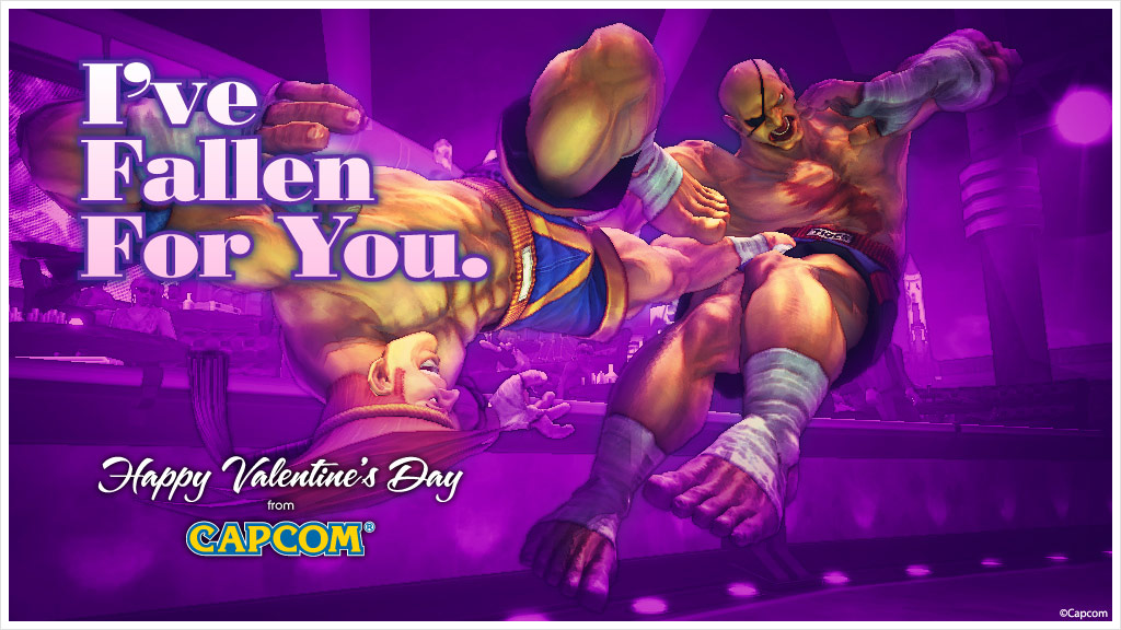 Super Street Fighter 4 Valentine's Day card #3