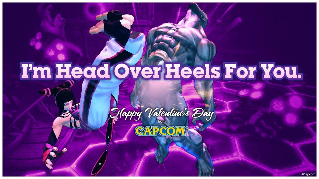 Super Street Fighter 4 Valentine's Day card #4