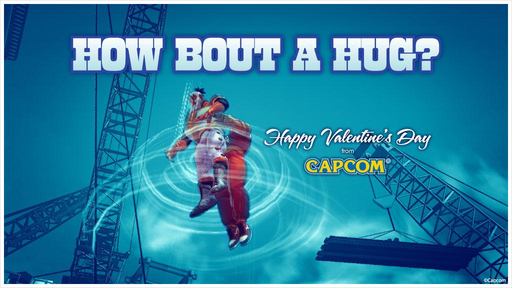 Super Street Fighter 4 Valentine's Day card #6