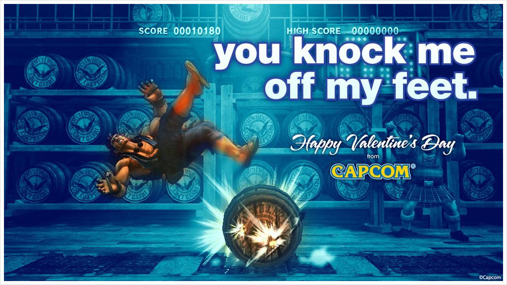Super Street Fighter 4 Valentine's Day card #7
