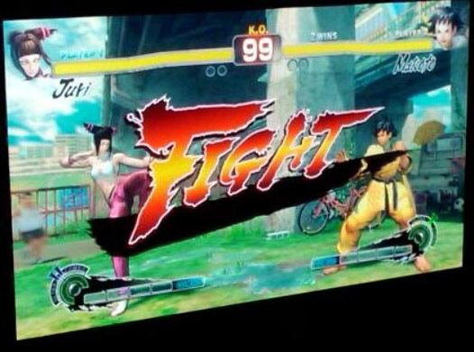 Juri's alternative outfit and Makoto in Super Street Fighter 4