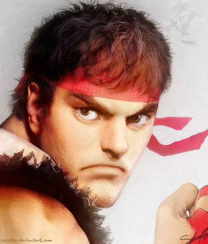 Realistic Street Fighter artwork for Ryu