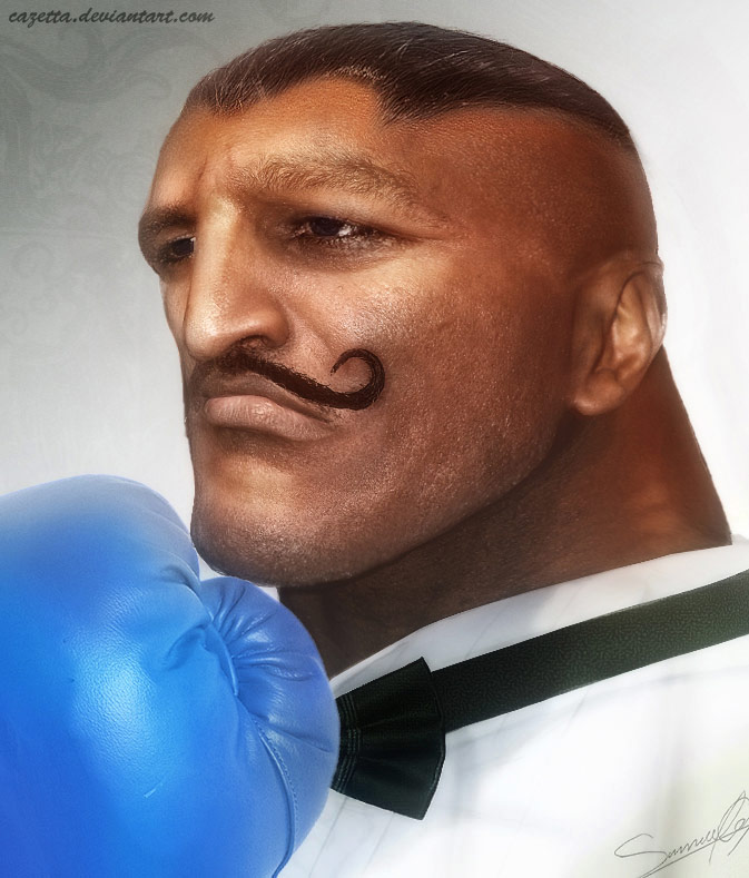 Realistic Street Fighter artwork for Dudley