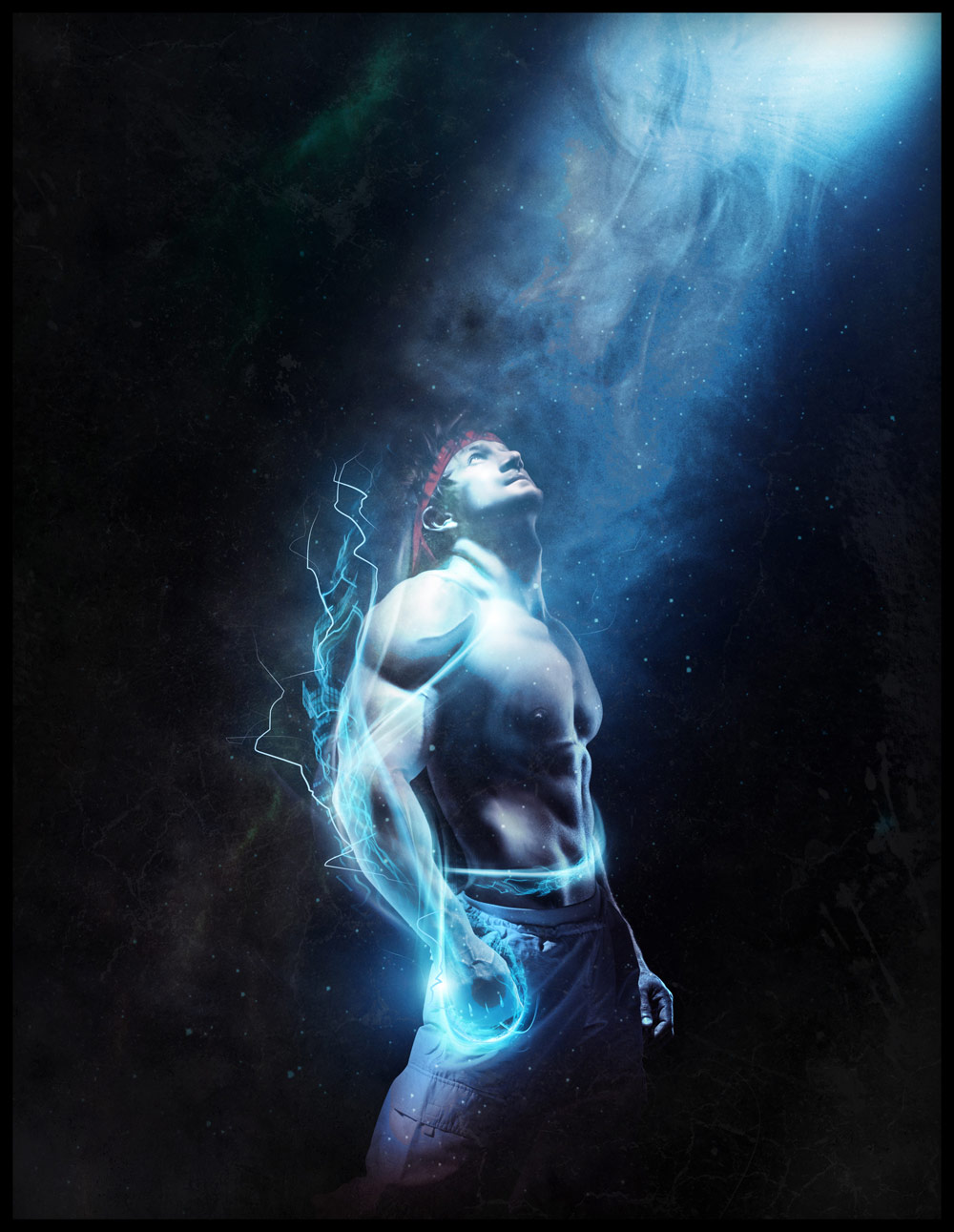 Ryu hyper real Street Fighter art