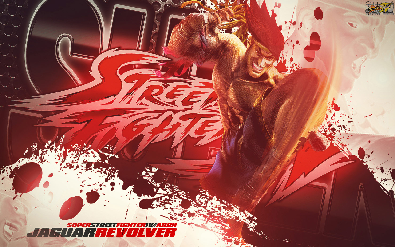Adon Super Street Fighter 4 wallpaper by BossLogic