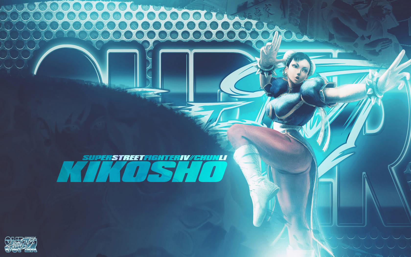 Chun-Li Super Street Fighter 4 wallpaper by BossLogic