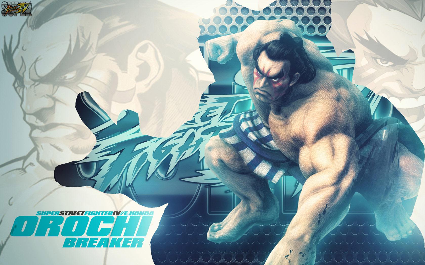 E. Honda Super Street Fighter 4 wallpaper by BossLogic