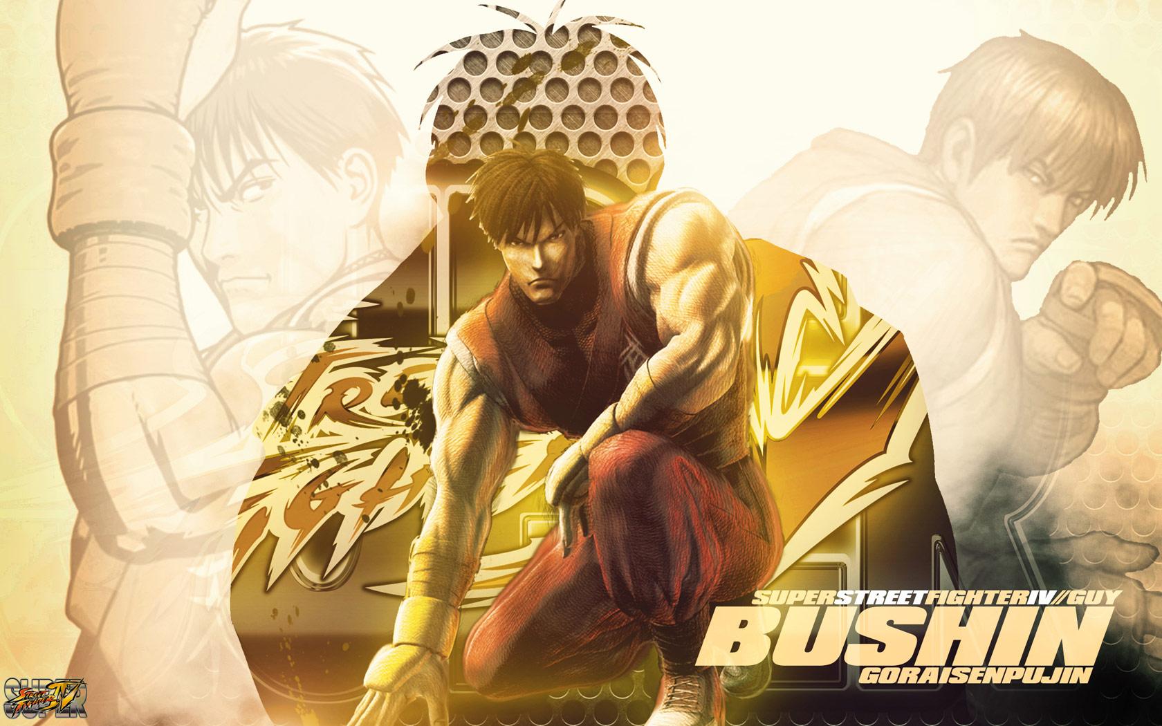 Guy Super Street Fighter 4 wallpaper by BossLogic