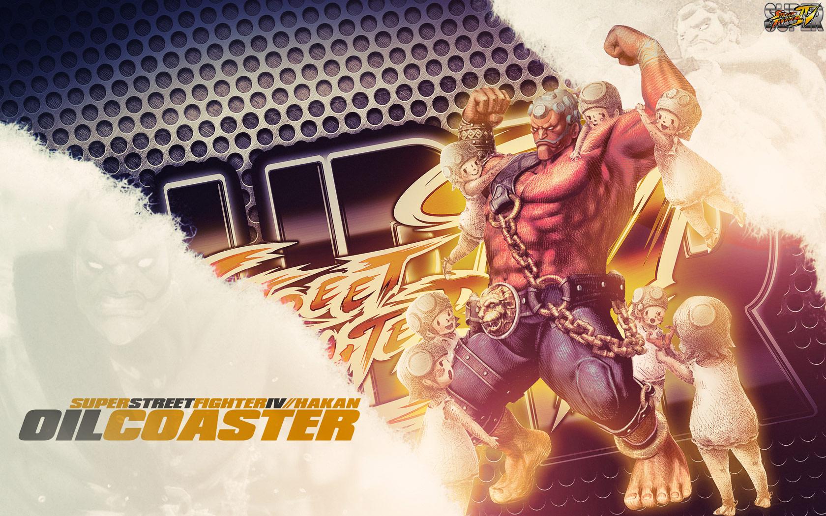 Hakan Super Street Fighter 4 wallpaper by BossLogic