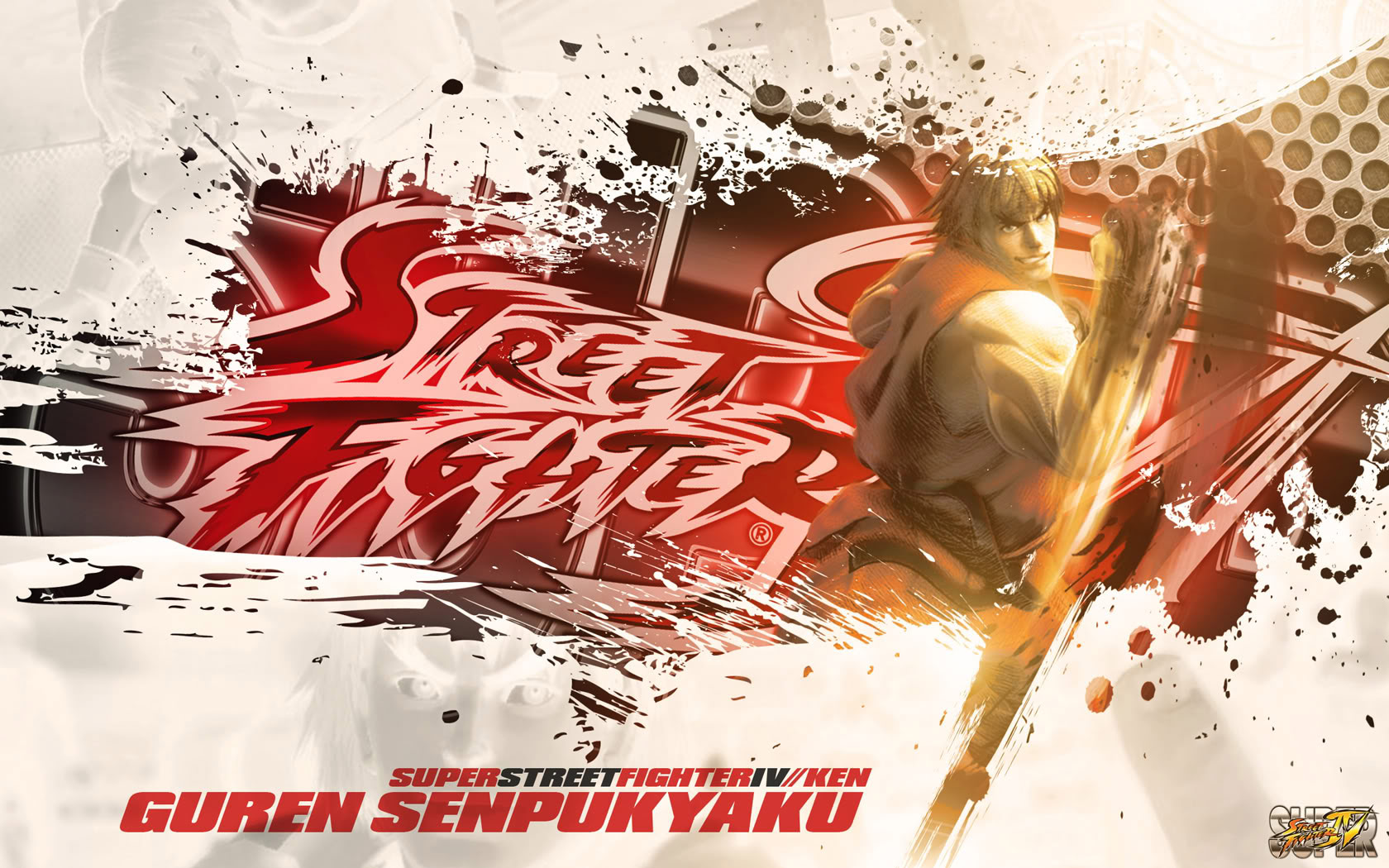 Ken Super Street Fighter 4 wallpaper by BossLogic