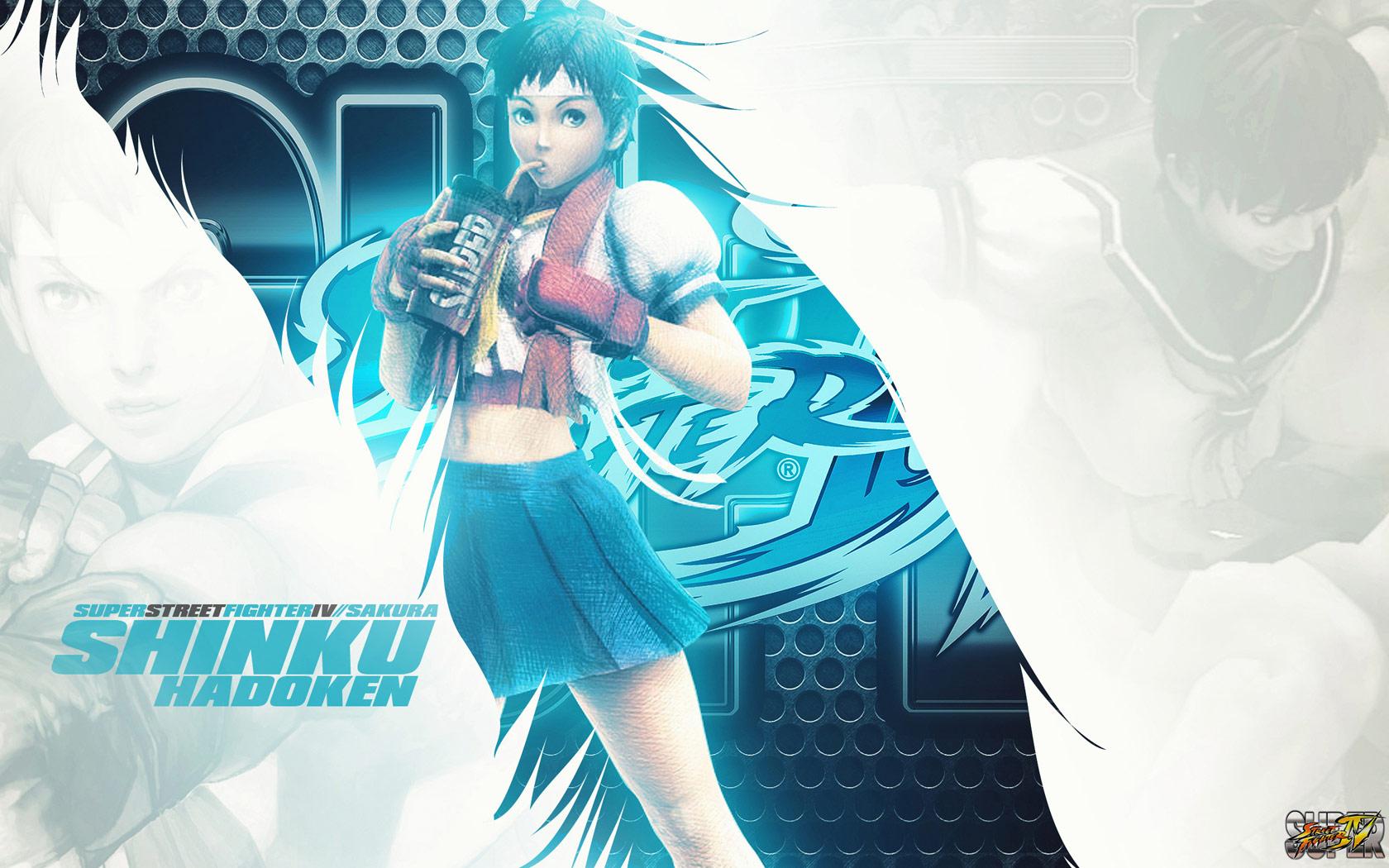 Sakura Super Street Fighter 4 wallpaper by BossLogic