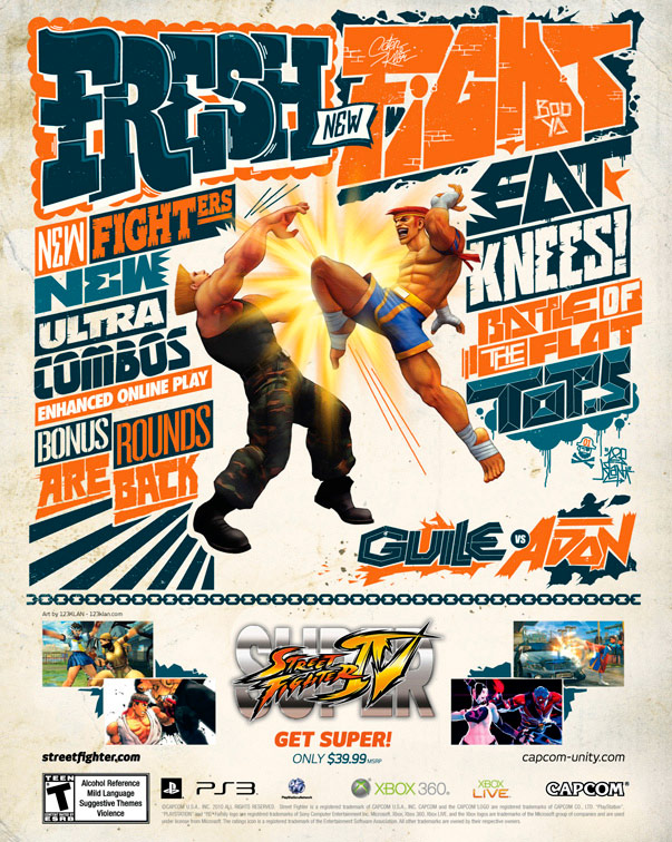 Super Street Fighter 4 print ad campaign image #2