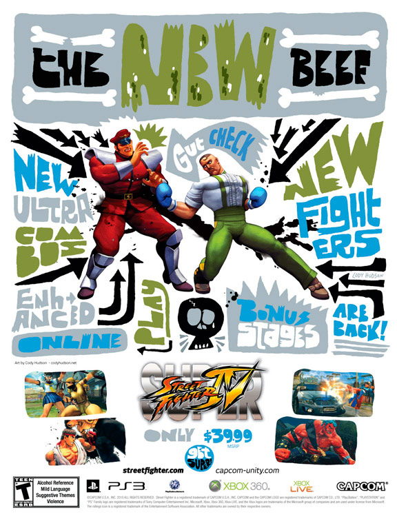 Super Street Fighter 4 print ad campaign image #3