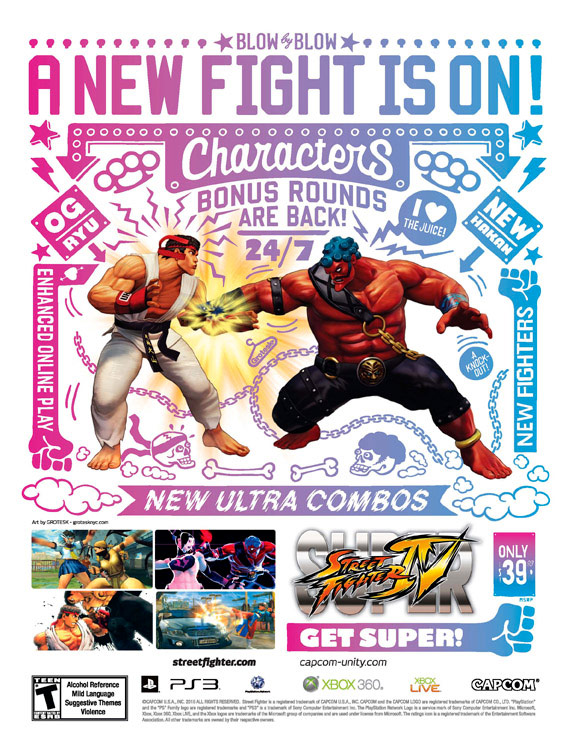Super Street Fighter 4 print ad campaign image #4