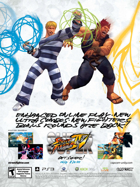 Super Street Fighter 4 print ad campaign image #5