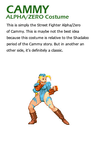 Cammy remixed Street Fighter 4 artwork explanation by KAiWAi