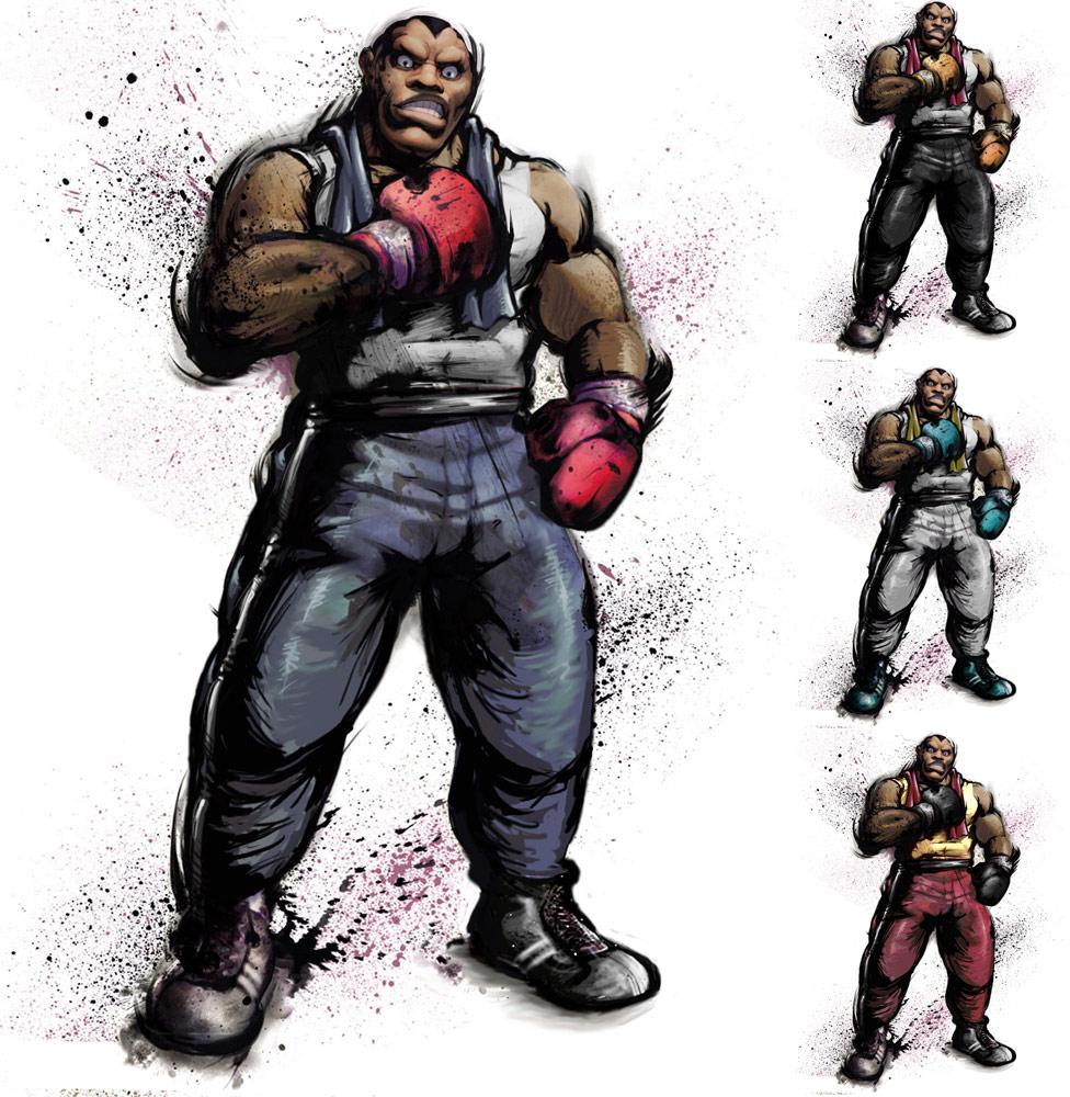 Balrog remixed Street Fighter 4 artwork by KAiWAi