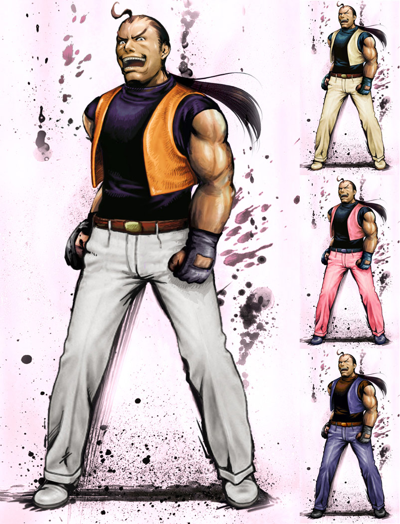 Dan remixed Street Fighter 4 artwork by KAiWAi