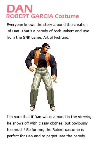 Dan remixed Street Fighter 4 artwork explanation by KAiWAi