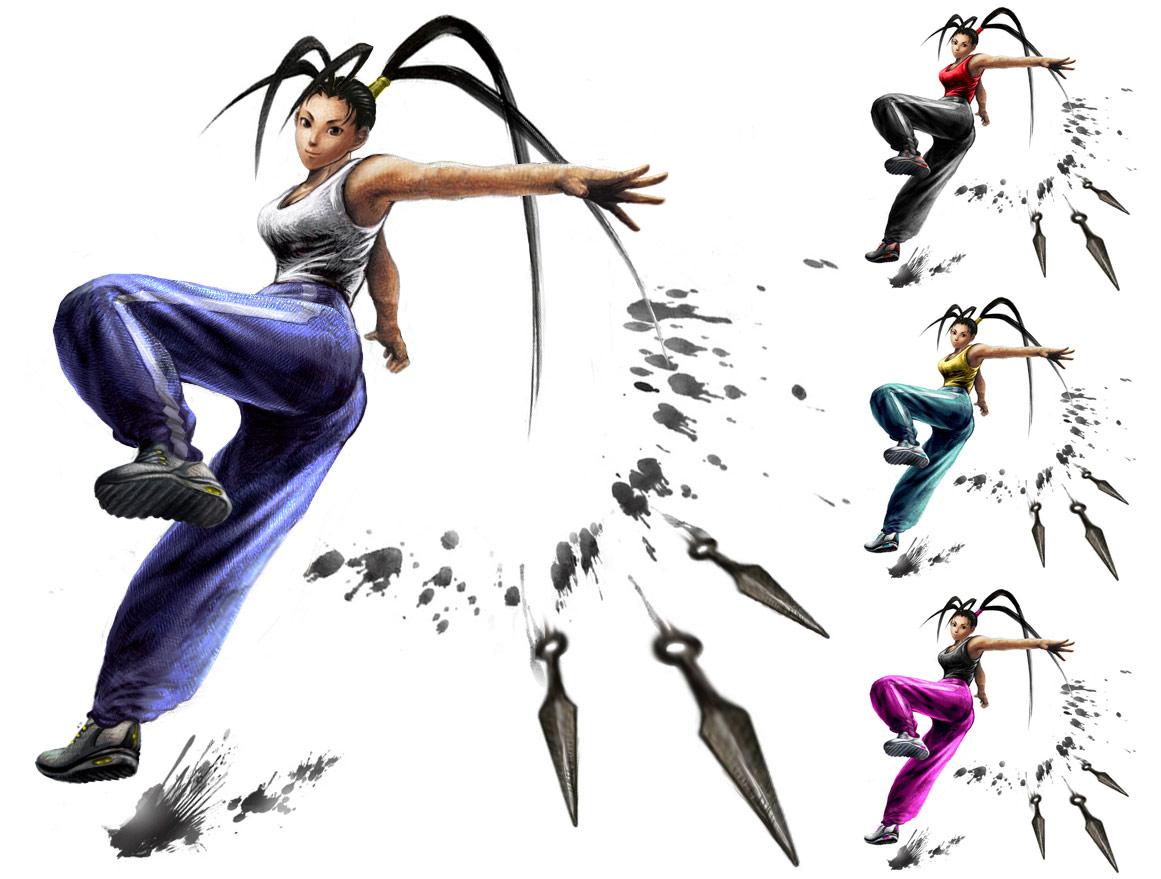 Ibuki remixed Street Fighter 4 artwork by KAiWAi