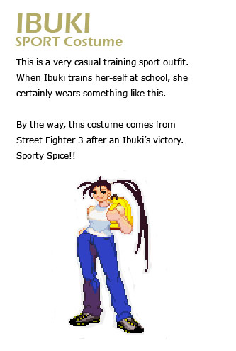 Ibuki remixed Street Fighter 4 artwork explanation by KAiWAi