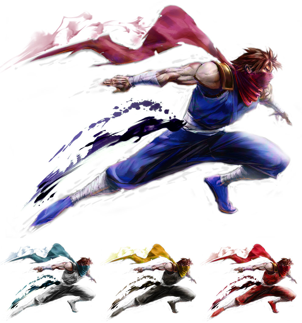 Guy remixed Street Fighter 4 artwork by KAiWAi