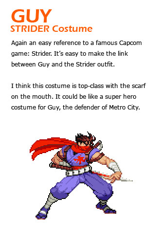 Guy remixed Street Fighter 4 artwork explanation by KAiWAi