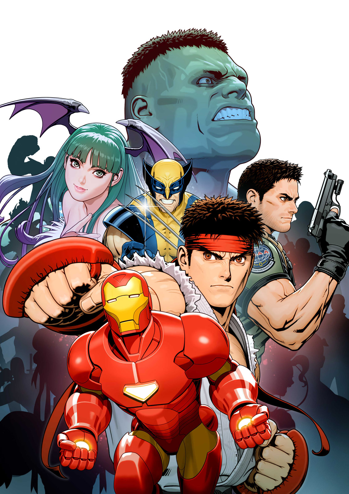 Marvel vs. Capcom 3 collage artwork #1