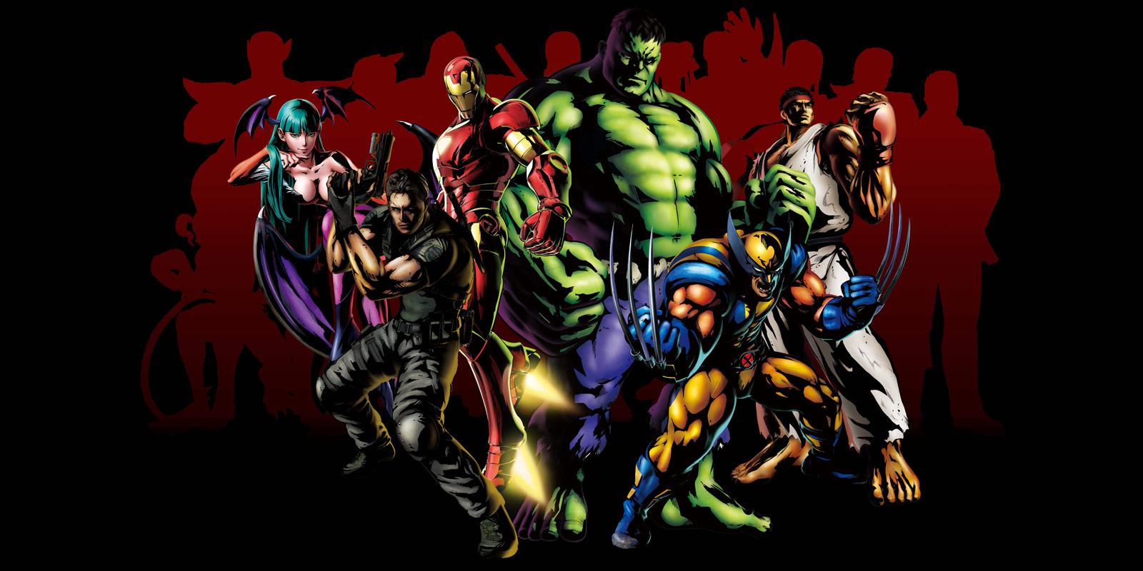 Marvel vs. Capcom 3 collage artwork #2