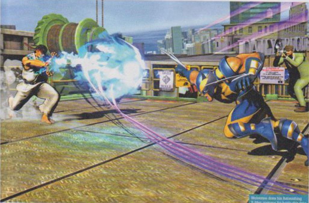 Marvel vs. Capcom 3 screen shot #1